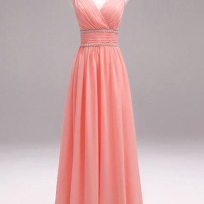 Sexy Prom Dress, Long Chiffon Prom ..
