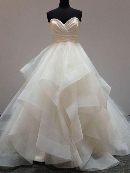 e27fe0037 Outlet White Ball Gown Wedding Dresses Fetching Long Sweetheart Wedding  Dresses With Ruffles Zipper Dresses