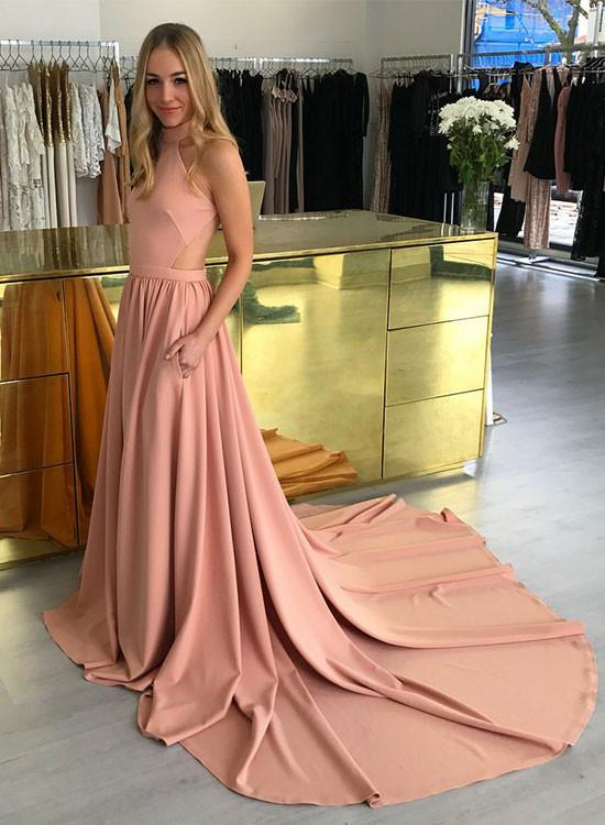 ac85550583daa A Line Cheap Prom Dress, Simple Modest Elegant Beautiful, Long Prom Dress,floor  length Evening Dresses, New Fashion,Custom Made