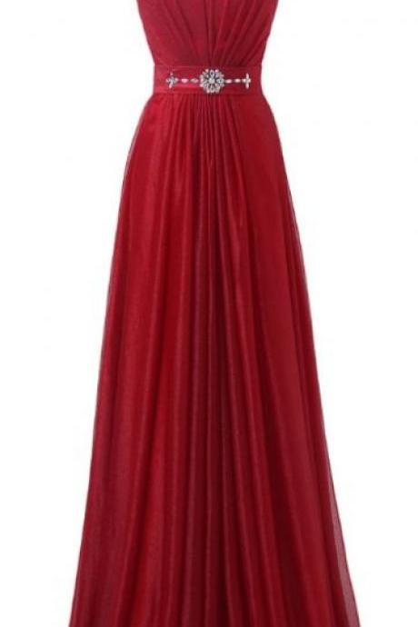 Floor length Prom Dresses, Red Floor-length Prom Dresses, Floor-length Long Prom Dresses, Red Long, Beading ,Sparkly ,Modest ,A-line ,Floor Length Prom Dresses , Customize Made ,2018 new fashion ,Prom Dress